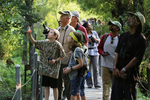 Go on a nature walk at 1:30 pm and 3pm