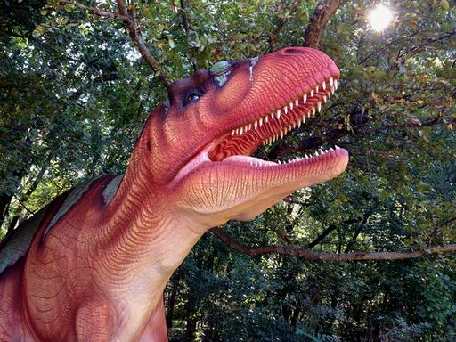 Acrocanthosaurus at the Heard